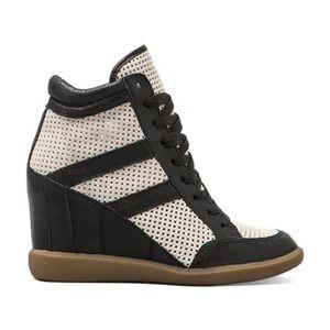 RARE Sam Edelman sneaker heels 6